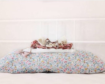 LIBERTY COTTON PILLOWCASE constructed from Liberty Tana Lawn in Betsy P