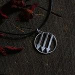 Antifascist three arrows pendant · Iron Front   |  donation item