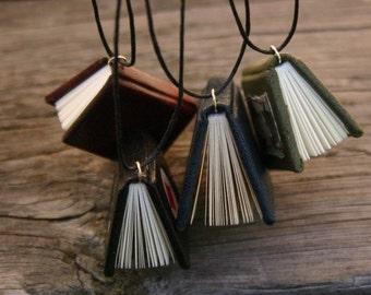 Surprise yerself - a miniature book pendant