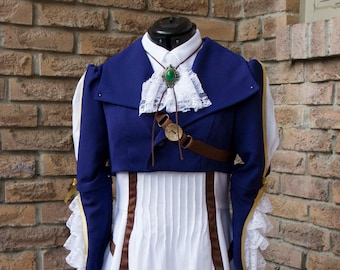Violet Evergarden Cosplay Dress & Jacket Set
