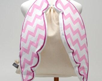 Chevron Light Pink, Dress-Up Angel Backpack
