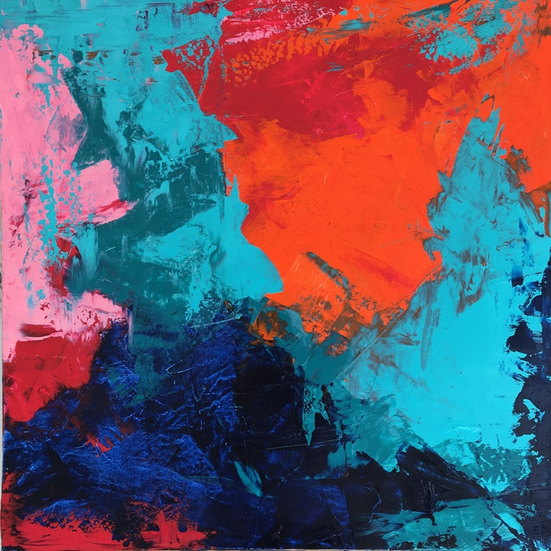 Large Abstract Painting Abstract art original painting image 0
