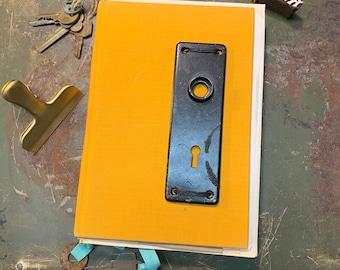 J11 - Medium Handmade Journal, Mixed media Journal, Art Journal, Junk Journal, Sketch Journal, Smash book,  Sketchbook, Junk book