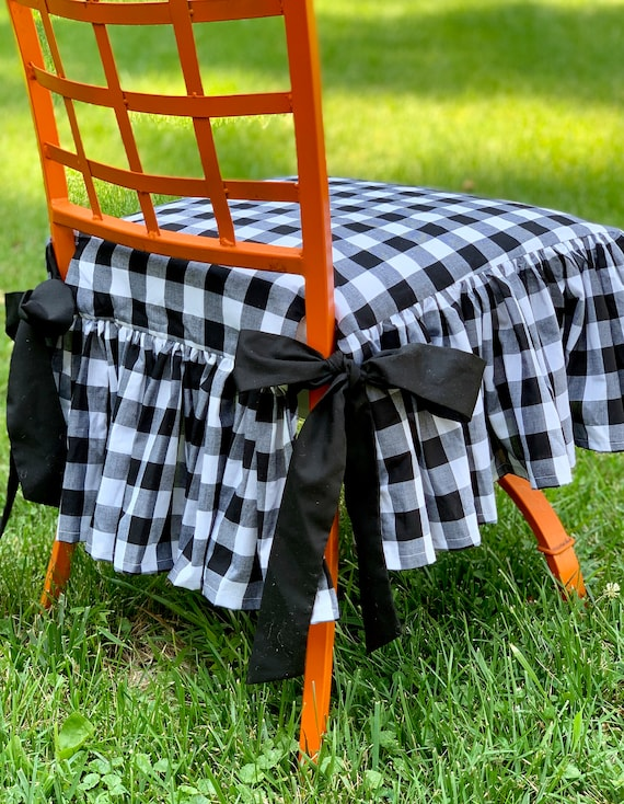 Marvelous Gingham Chair Cover Andrewgaddart Wooden Chair Designs For Living Room Andrewgaddartcom