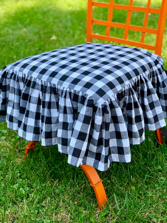 Incredible Gingham Chair Cover Andrewgaddart Wooden Chair Designs For Living Room Andrewgaddartcom