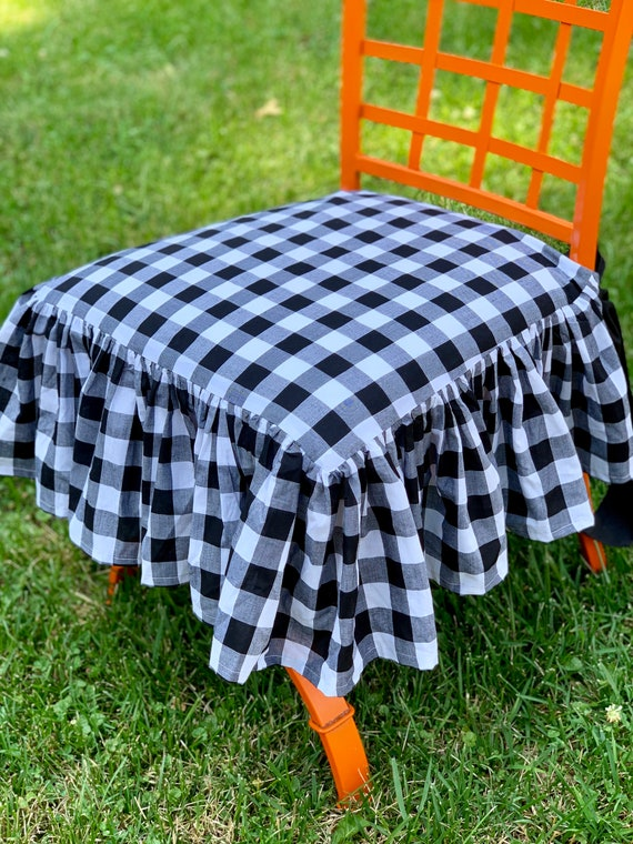 Astonishing Gingham Chair Cover Andrewgaddart Wooden Chair Designs For Living Room Andrewgaddartcom