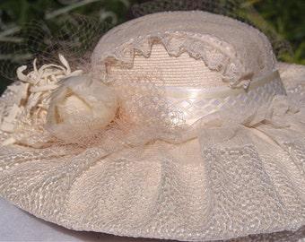 Wedding, High Tea, or Elegant  Derby Hat.