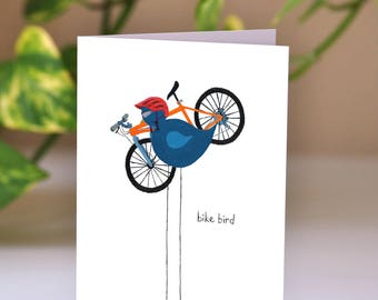 mountain bike card etsy