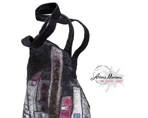Sculpture Bag Fiber Art CityLine