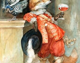 The Sly Fox (print)