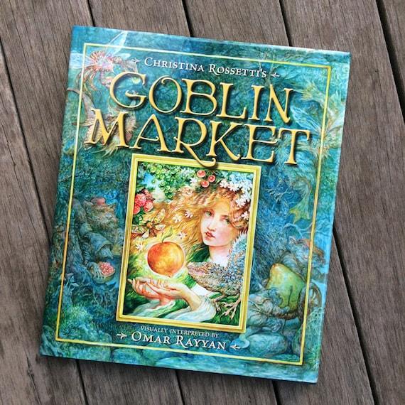 Goblin Market Book Illustrated Art Book By Omar Rayyan Etsy