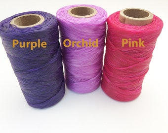 Artificial Sinew Thread Waxed Nylon for Craft Colorful