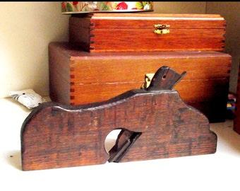 Antique Wood Plane Etsy
