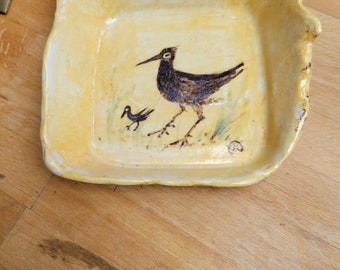 Accessory dish or small serving hand made