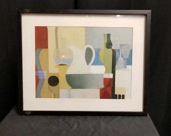 Vintage Art Print, Framed Vintage Print, Picasso Print