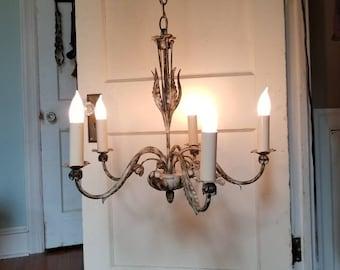 Shabby Chic Chandelier, 5 Light chandelier sALE!