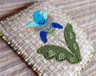 Jacobean Needlekeeper Pattern - Wool Applique - #NK63