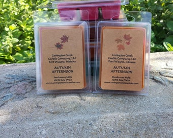 Autumn Afternoon 3 or 6 ounce Soy Breakaway Melt