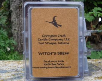 Witch's Brew 3 or 6 ounce Soy Breakaway Melt