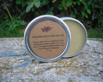 Winter Weather Salve, Hand salve, cold weather salve