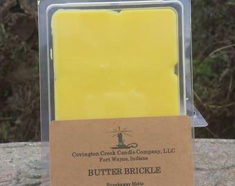 Butter Brickle 6 Ounce Breakaway Melt.