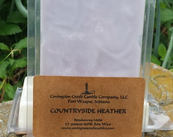Countryside Heather 6 ounce Soy Breakaway Melt