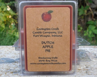 Dutch Apple Pure 3 or 6 ounce Soy Breakaway Melt