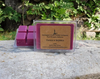 Twigs and Berries Soy 3 or 6 ounce  Breakaway Melts