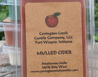Mulled Cider 3 or 6 ounce Soy Breakaway Melt