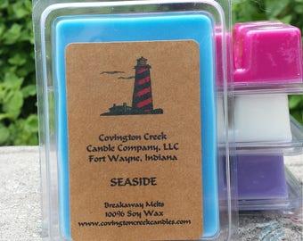 Seaside 3 or 6 ounce Soy Breakaway Melt