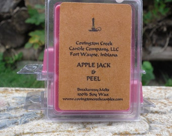 Apple Jack and Peel 3 or 6 ounce Soy Breakaway Melt