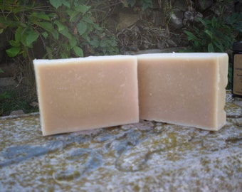 Vegan Dark Sumatra Coffee Shampoo Bar with Tea Tree Oil and Jojoba Oil Organic Cold Process Soap.  Unscented.