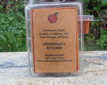 Grandma's Kitchen Breakaway Melt. 3 or 6 ounce