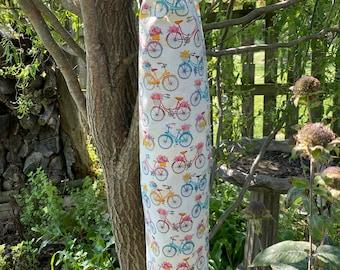 Spring, Summer  Fabric Plastic Bag Dispenser