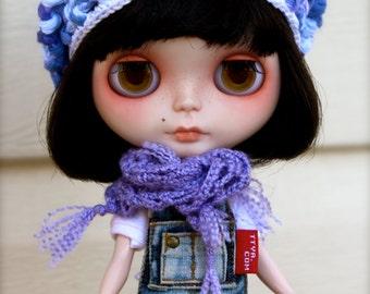 Blythe Beret   Blythe Hat   Blythe Slouchy Hat   Blythe Slouchy Beret   Blythe Crochet Beret   Blythe Purple Hat   Blythe Clothes