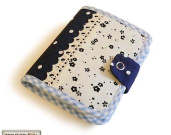 Bifold wallet sewing pattern,bifold wallet pattern,change purse/zipper wallet/coin purse pattern,wallet instructions -- PDF files