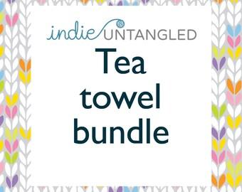 Indie Untangled Rhinebeck Trunk Tea towel bundle