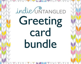 Indie Untangled Rhinebeck Trunk Greeting card bundle