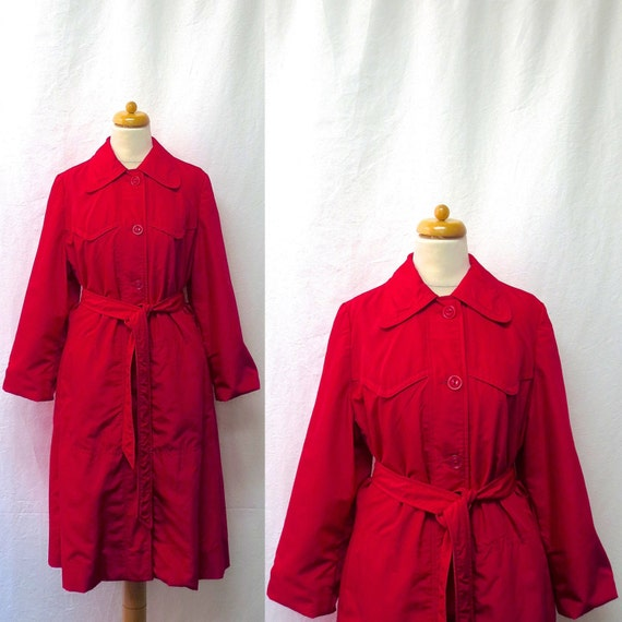 1950s / 60s Vintage Weatherbee Trench Coat / Ceris
