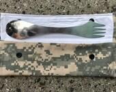 Army Camo Spork Pouch...