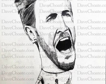 Harry Kane, England Football /Soccer Art Photo Print