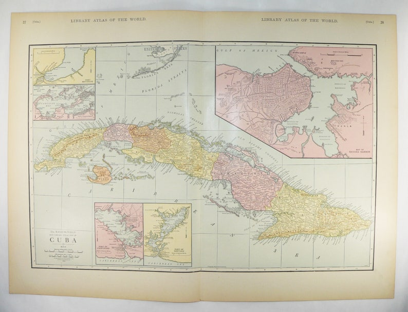 Extra Large Cuba Map 1912 Antique Map of Cuba, Caribbean Decor, Vintage on canada map, florida map, europe map, caribbean map, nevada map, mexico map, africa map, 13 colonies map, tennessee map, us state map, the us map, texas map, full size us map, the world map, great lakes map, arkansas map, missouri map, east coast map, blank map, mississippi map,