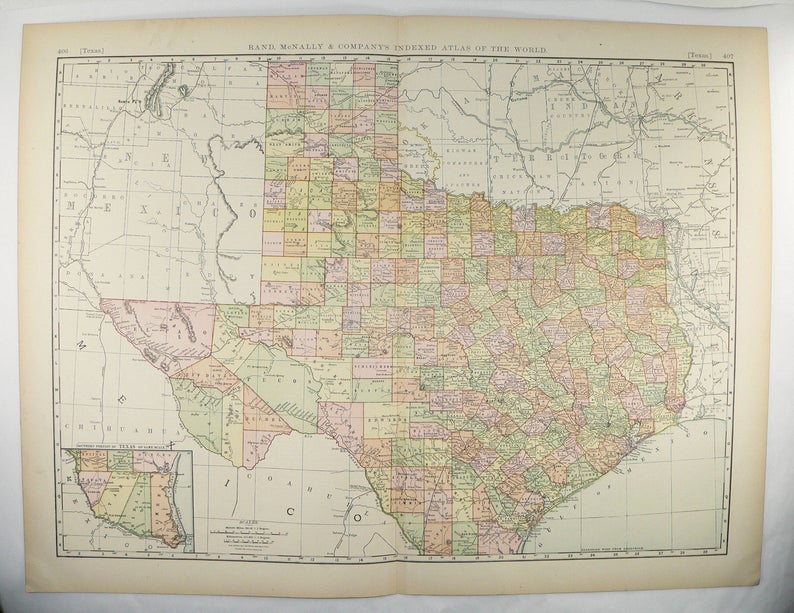 Large Texas Map 1897 Antique Map of Texas, Gift for Parents, Lone Star on canada map, florida map, europe map, caribbean map, nevada map, mexico map, africa map, 13 colonies map, tennessee map, us state map, the us map, texas map, full size us map, the world map, great lakes map, arkansas map, missouri map, east coast map, blank map, mississippi map,