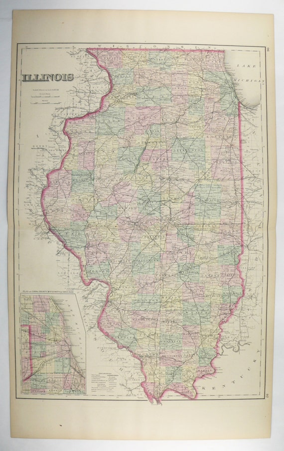 Antique Illinois Map, Chicago IL Map, Iowa State 1876 OW Gray Large on map of illinois cities, map of west virginia and tennessee, map of iowa freedom rock in the tour, map of iowa small towns, iowa state map illinois, map of bridges of madison county iowa, map of iowa online, map of quad cities and surrounding area, map of dubuque iowa, map of church camps in illinois, big map of illinois, map of iowa casinos, street map clinton illinois, map of quincy illinois, map of iowa print, map of missouri, map of the state of iowa, oakland city hall illinois, map of minnesota iowa border, map of iowa counties,