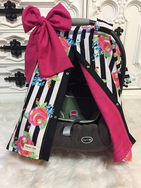 Infant Carseat Canopy / car seat cover / nursing cover / carseat canopy / carseat cover