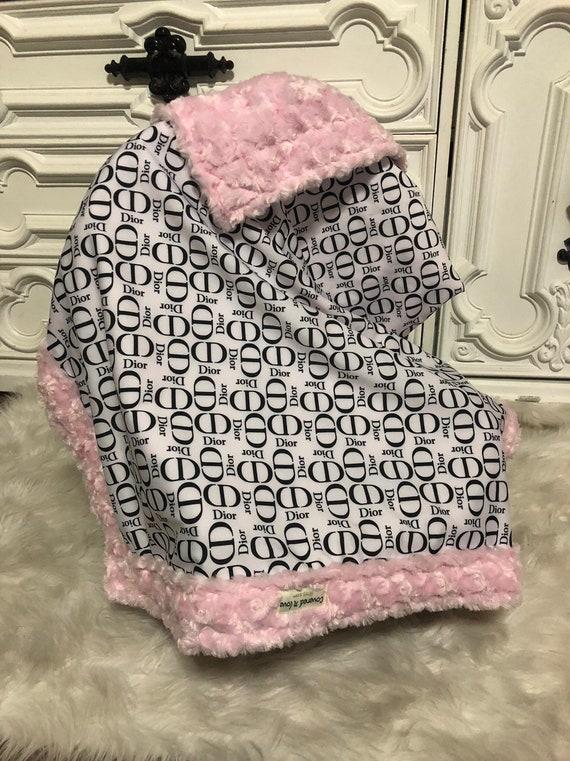LAST ONE , Designer inspired , inspired baby blanket , soft minky , ships same day
