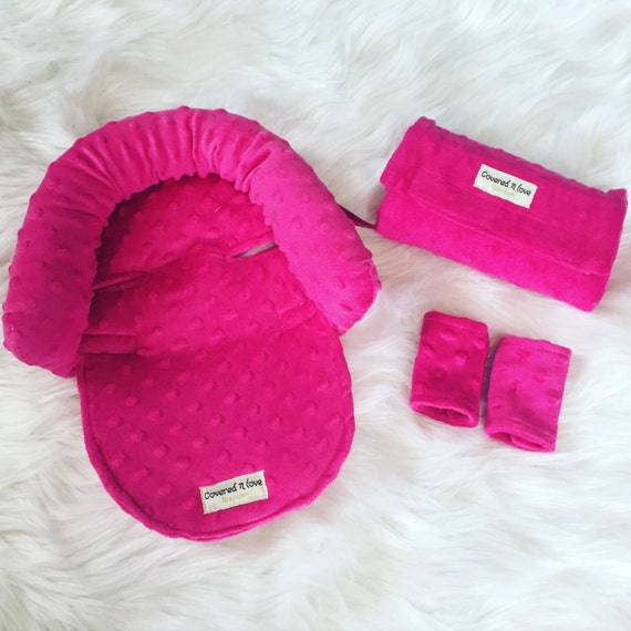 Car seat cover / CUDDLE bundle set YOU pick minky color // car seat cover / nursing cover / carseat canopy / carseat cover
