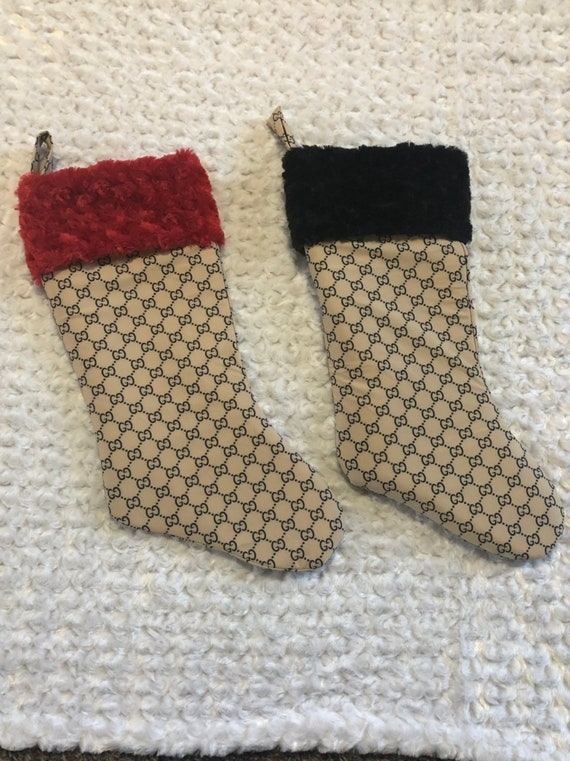 Stunning designer inspired stockings. You pick accent color