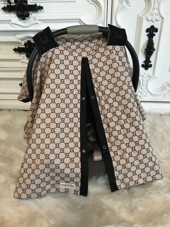Car Seat Canopy Designer Inspired Custom