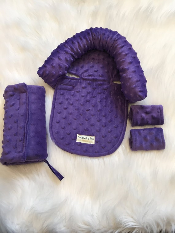 Car seat cover / CUDDLE bundle set YOU pick minky color